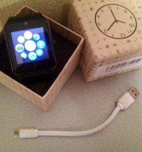 Смарт часы телефон (SIM+MicroSD)