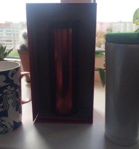 Тамблеры, кружки и кофе
