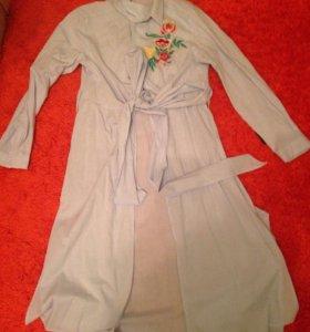 Длинная рубашка Zara
