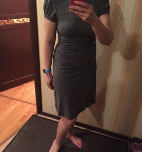 Трикотажное платье 44-46