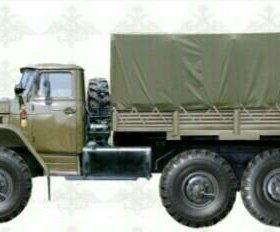 Тент на грузовые авто  Урал