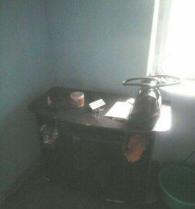 Тумба под телевизор с полочками