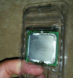 Pentium 4  2,66 Ггц (506)  Lga775