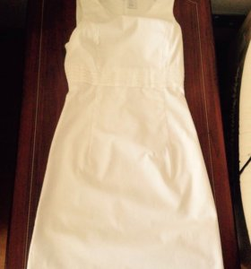 Белое платье Camaíeu
