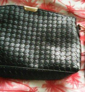 Клатч чёрный (сумка)