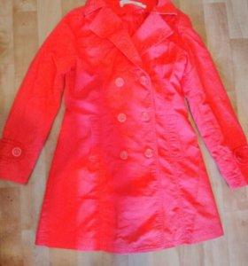 Торг!!! 100% ХЛОПОК лёгкое пальто