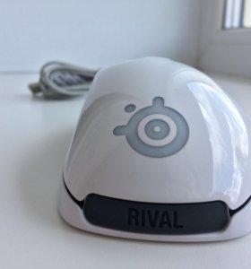 Мышка SteelSeries RIVAL 300 White