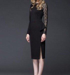 Платье Lakbi чёрное.