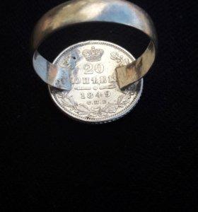Перстень из монеты