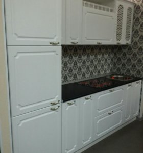 "Новый кухонный гарнитур ""Классика белая""- фабрика"