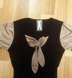 Платье трикотажное (44-46)