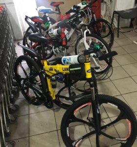 Спортивный велосипед на литье