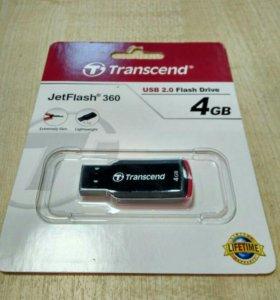 Флеш накопитель 4Gb Transcend JetFlash360,usb 2.0