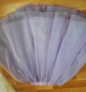 Новая фатиновая пышная юбка