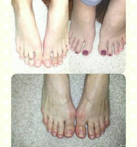 Шеллак на ножках