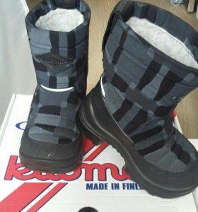 Детские зимние сапоги KUOMA