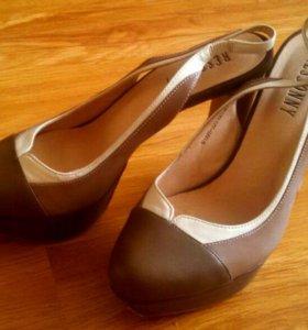 Туфли кожаные, 38 размер
