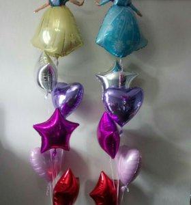 Фольгированные шары,  цифры