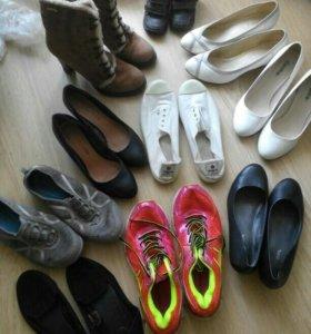 Много обуви от100 до 500.-!!!
