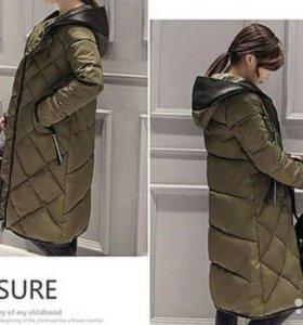 Новая зимняя удлиненная куртка