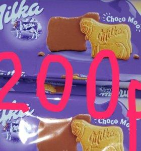 Шоколадные печеньки