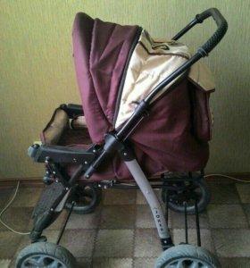 Детская коляска-трансформер,зима-лето