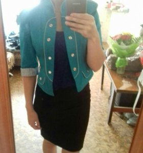 пиджак с короткими рукавами