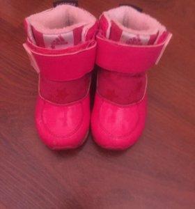 Адидас ботинки