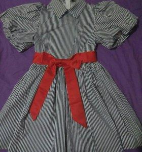 Платье в полоску Lusio