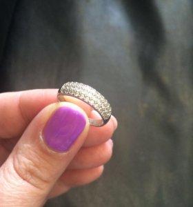 Кольцо р.17-17,5 925 проба серебро