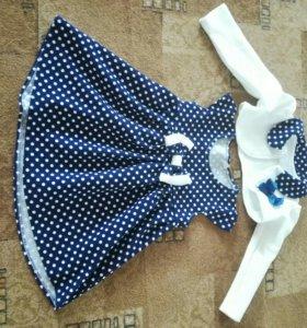 Новые платья на девочку на 1_3 года