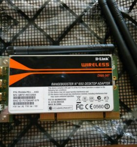 D-link DWA-547 PCI Wi-Fi-адаптер