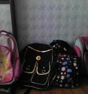 Рюкзаки, сумки, папки