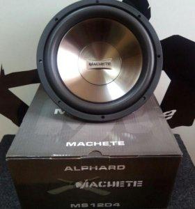 Сабвуфер Alphard Machete MS12D4
