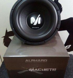 Сабвуфер Alphard Machete M12D2