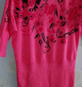 Туника розовая
