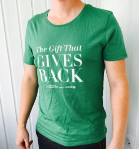 Новая футболка HM хлопок мужская