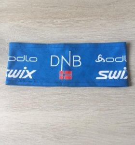 Лыжная повязка на голову DNB