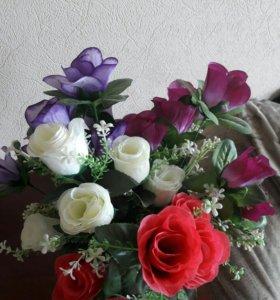 Цветы искуственые