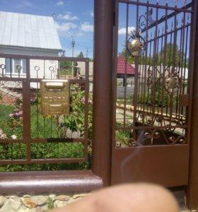 Покраска заборов дверей ворот