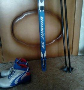 Лыжи+