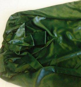 Блузка атласная с длимым рукавом