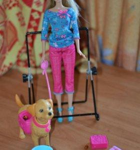 Набор Барби с собачкой