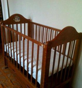 Детская кровать Наша мама