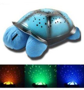 Музыкальный Ночник проектор звездного неба Черепах