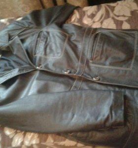 Куртка вареная кожа50р