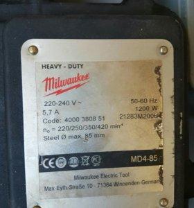 Дрель на магнитной стантне md4-85
