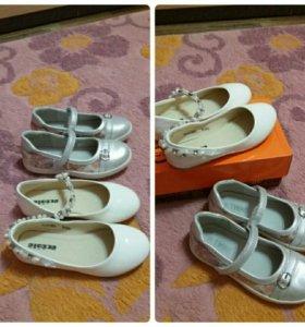 Обувь для девочек в отличном состоянии