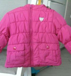 Куртка + варежки