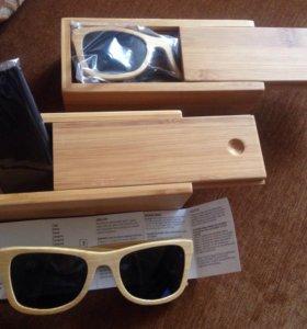 Солнцезащитные очки из дерева